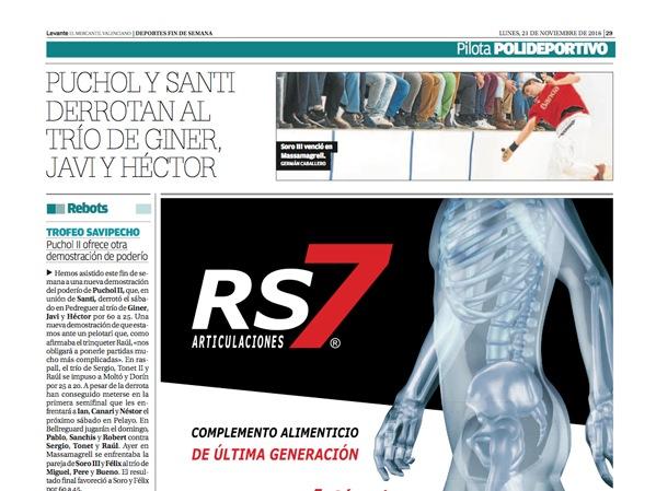 RS7 en Diario Levante
