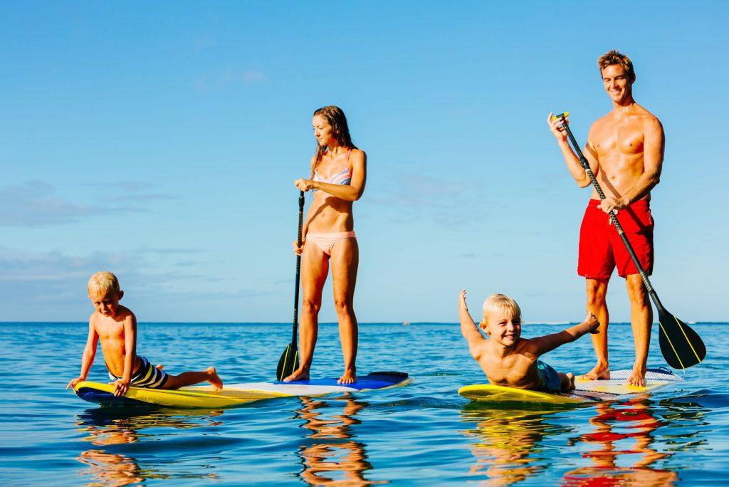 El paddle surf, mucho más que una moda
